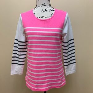 J Crew Striped Sweater Sz Small
